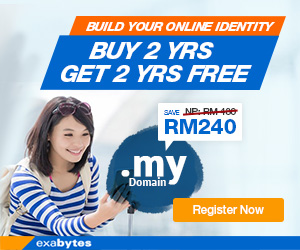 .MY Domain Promo - Buy 2 Free 2