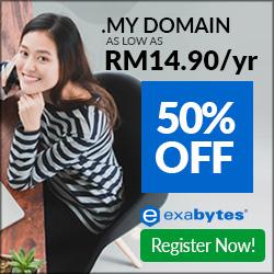 .MY Domain Promo