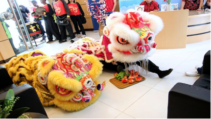 Exabytes Chinese New Year 2012 Lion Dance