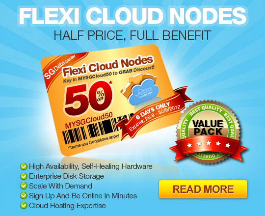 Exabytes Flexi Cloud Nodes