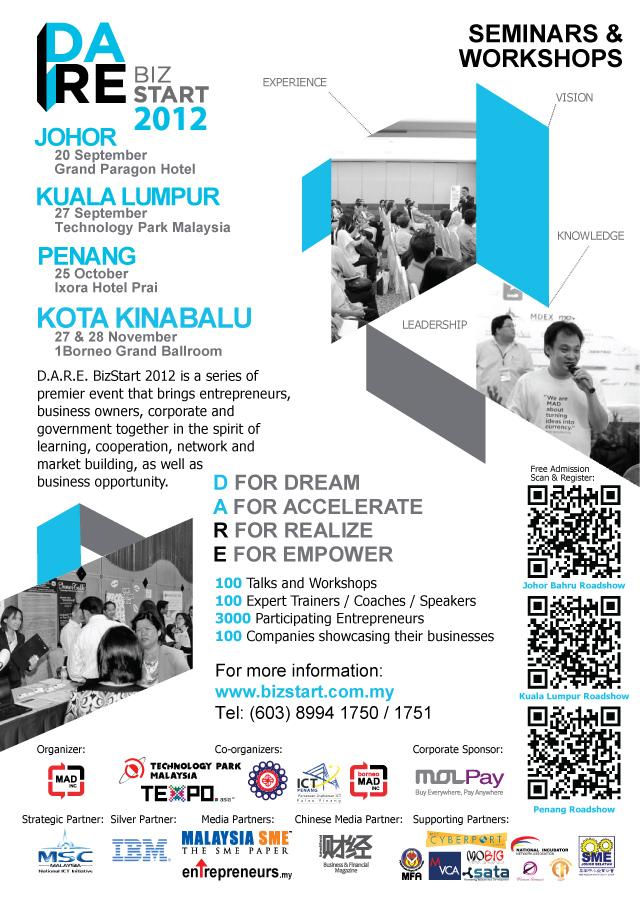 D.A.R.E. BizStart Showcase 2012