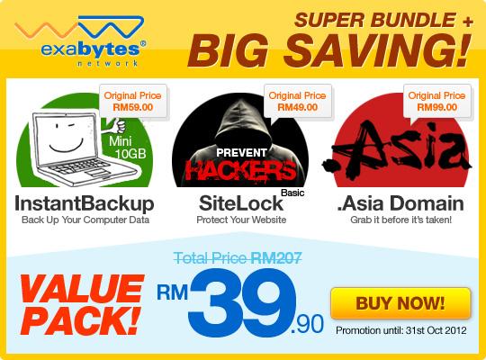 Super bundle value pack promo