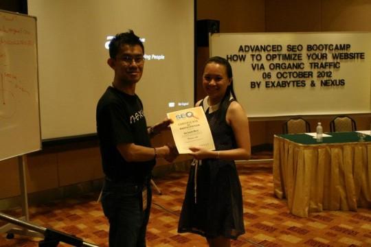 seo bootcamp by exabytes