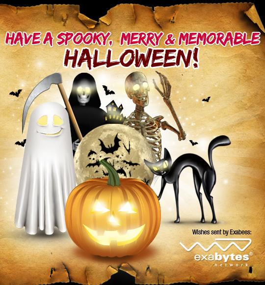 Exabytes Halloween 2012