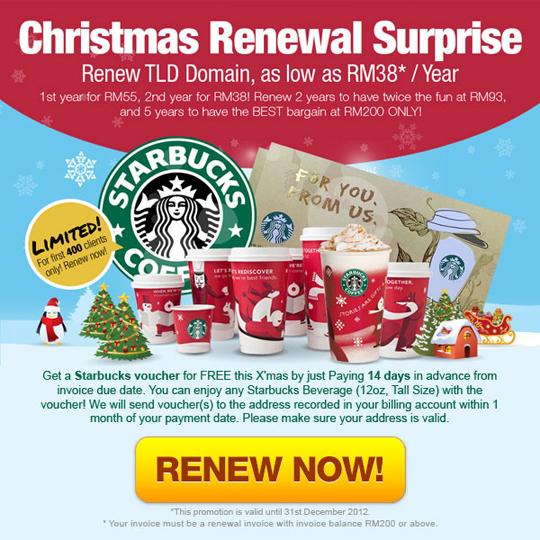Christmas Renewal Surprise