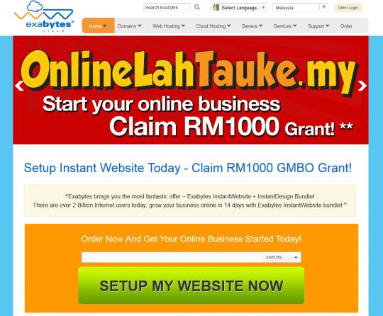 OnlineLahTauke.my grant