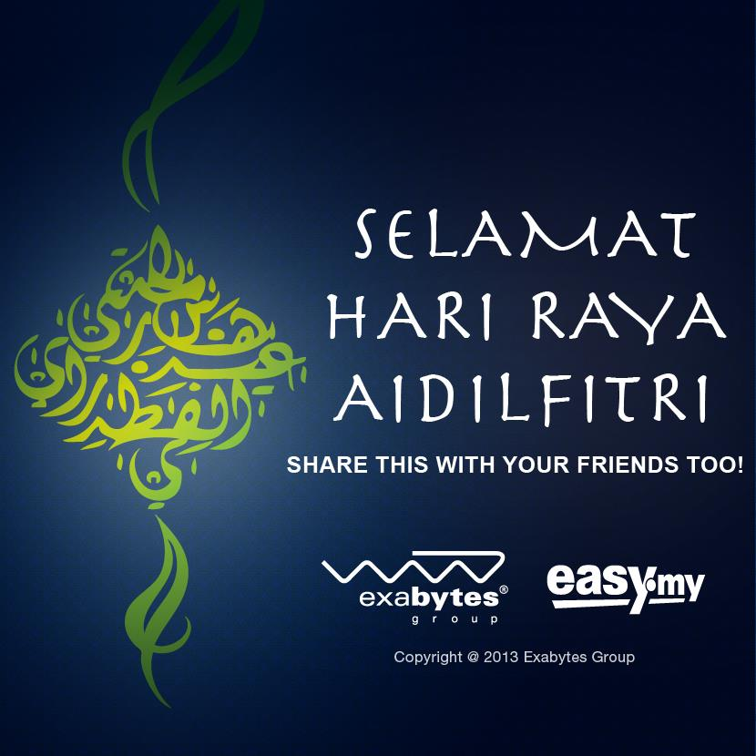 Exabytes Wishes All Muslims A Joyous Hari Raya