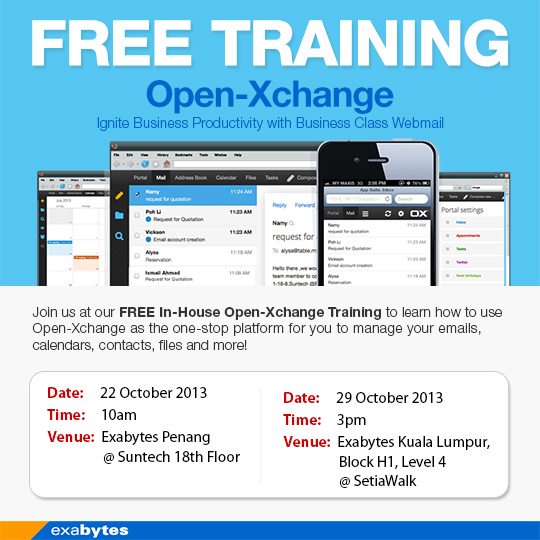 Open-Xchange Training
