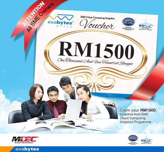 SME cloud computing adoption voucher from MDEC