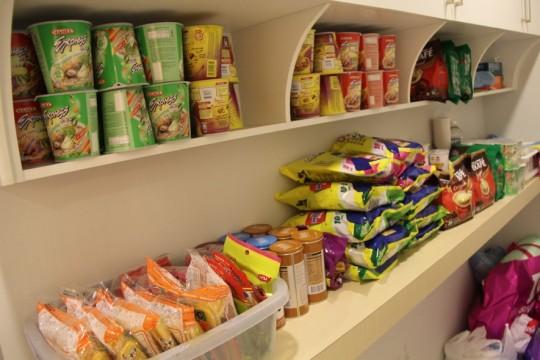 food at pantry