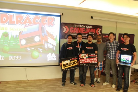 Photo CGM Game Jam 2013 winner