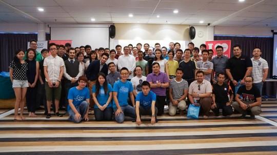 EDC (Exabytes Designer Club) 2nd Gathering at SetiaWalk group photo
