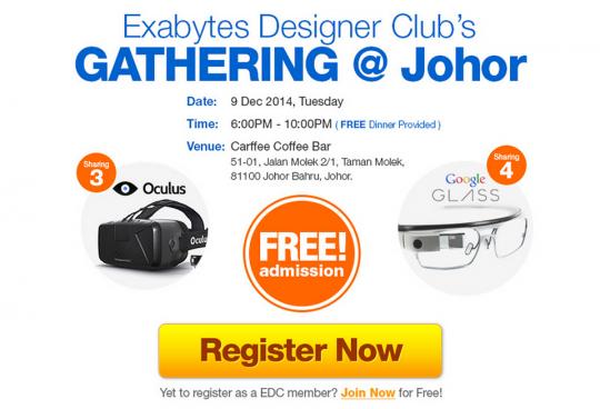 Exabytes Designer Club's gathering @ Johor