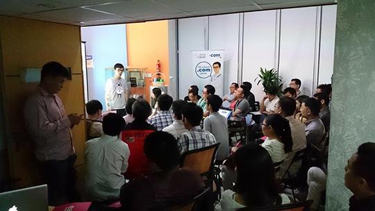 Penang Suntech Office lobby EDC gathering