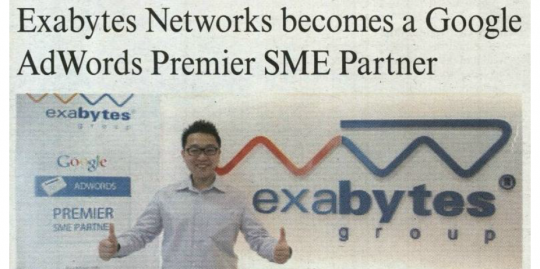 exabytes and google in the malaysian reserve print