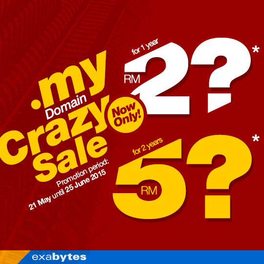 .my Domain Crazy sale