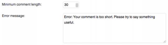 minimum-comment-length