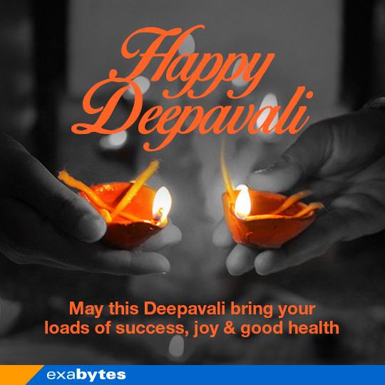 Happy Deepavali - Exabytes Malaysia