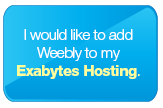 I would like to add Weebly to my Exabytes Hosting