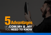 Advantages of .COM.MY & .MY Domains