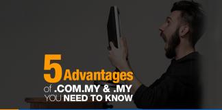Advantages of .COM.MY & .MY Domains