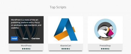 WordPress AbanteCart PrestaShop