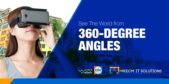 see the world from 360-degree angles
