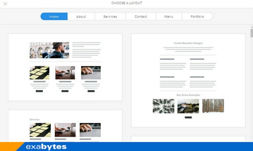 weebly layout library