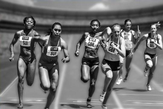 Relay race sports