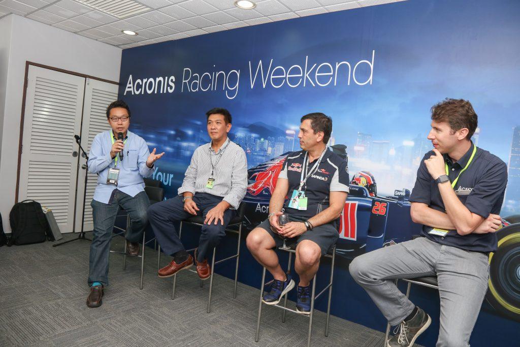 acronis exabytes product launching