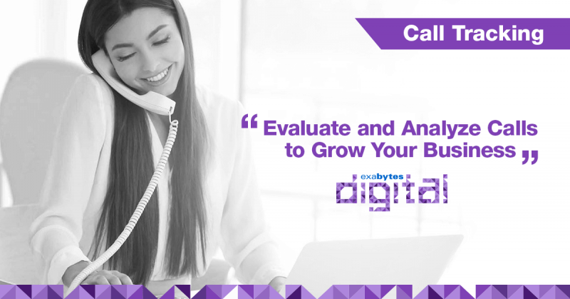 call tracking from Exabytes Digital