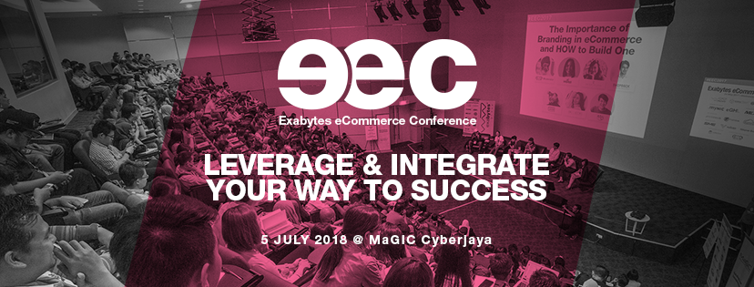 Exabytes eCommerce Conference EEC 2018 banner