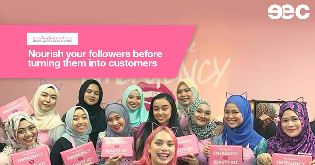 Pinkboxcereal as EEC 2018 speaker banner