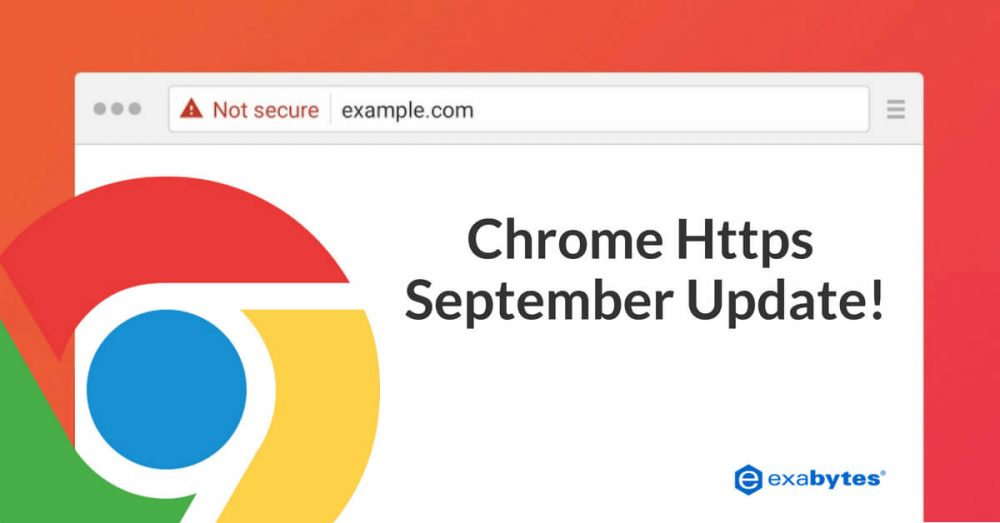 Chrome https update