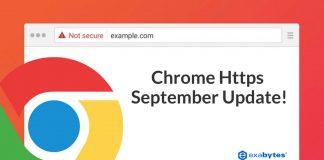 Chrome https update