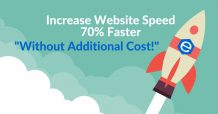 Increase website speed