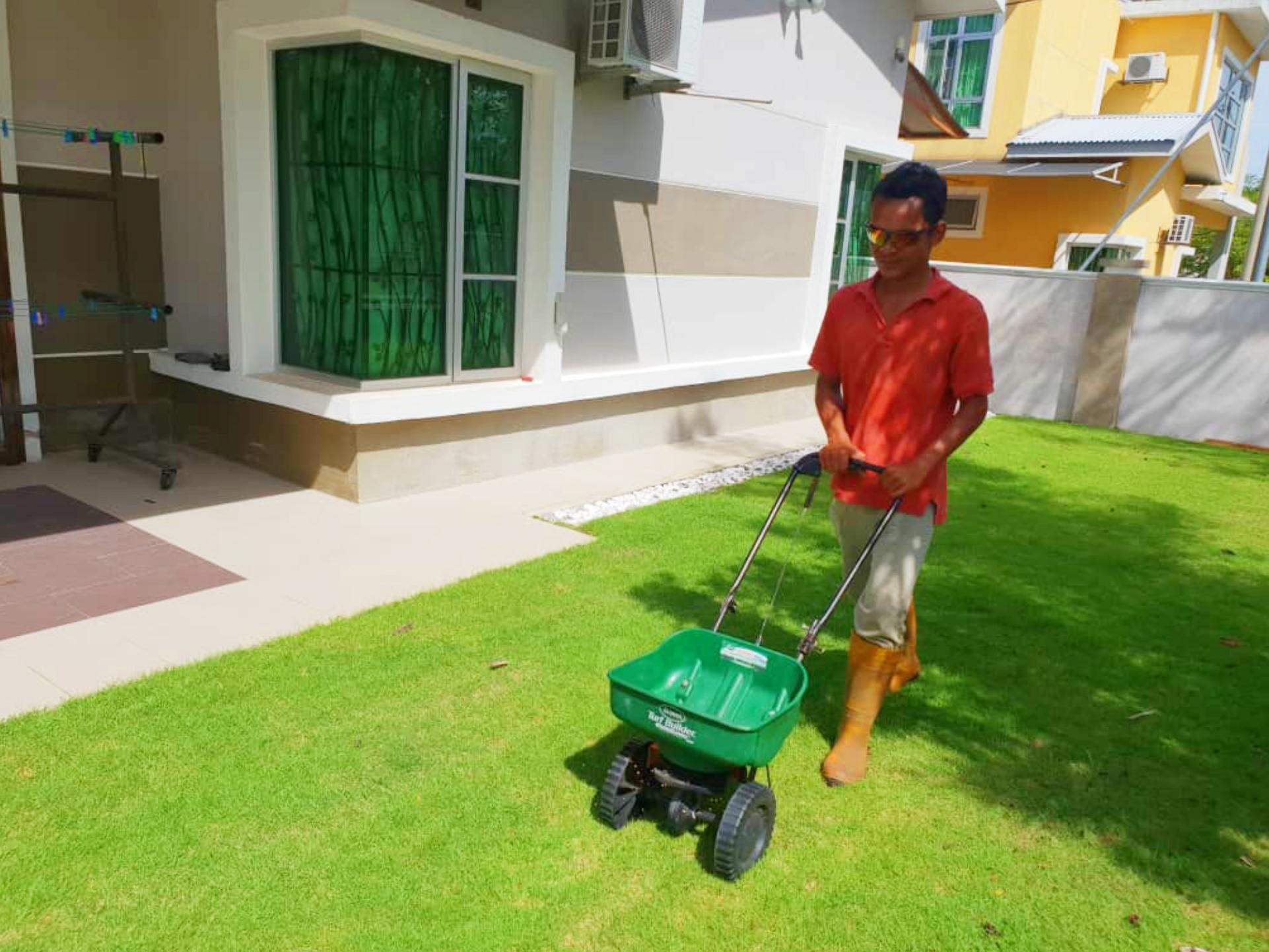 AimanLawncare_Fertilizer_Application_-_Mohd_Adib