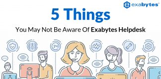 5 Things about Exabytes Helpdesk