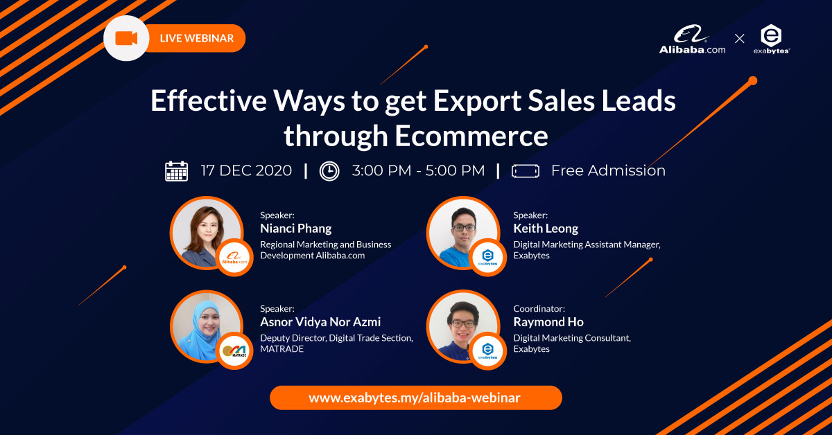 Effective Ways to get Export Sales Leads through Ecommerce