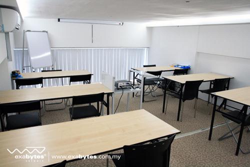 Exabytes Training room
