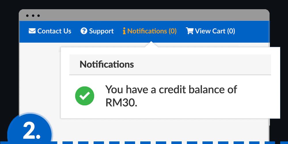 claim step 2 notification
