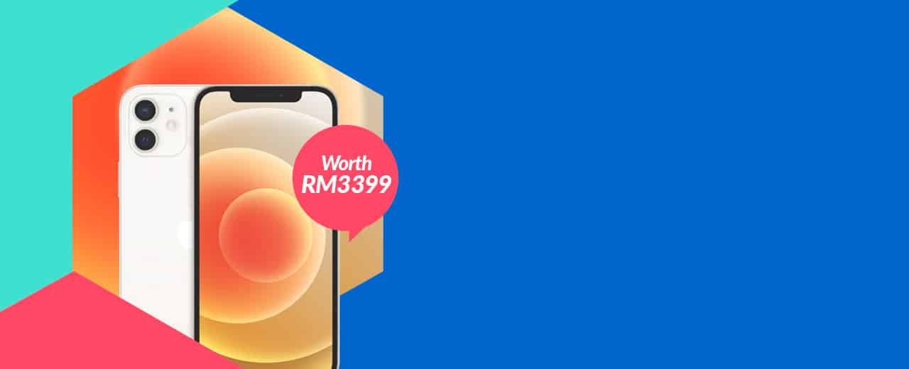 iPhone 12 worth RM3399