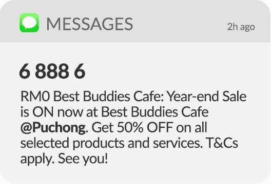 Bulk SMS Message 5