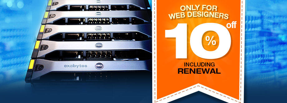 10% OFF On Dedicated Server!